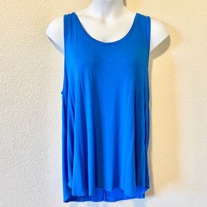 ⭐️5/$25 Old Navy Blue Luxe Tank Top XXL